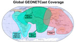 Global GEONETCast Coverage