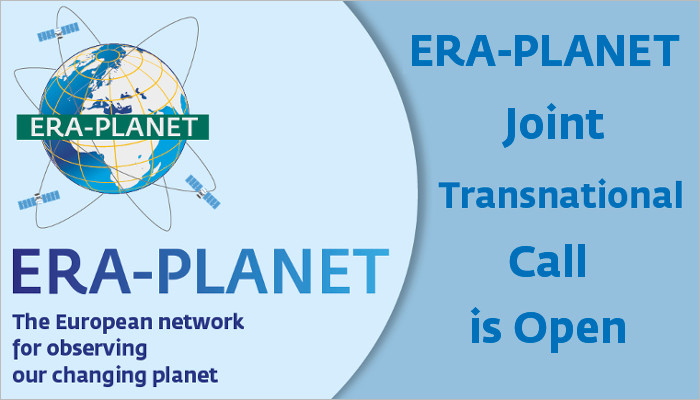 ERA-PLANET Joint Transnational Call is Open