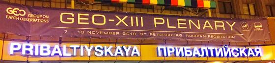 GEO-XIII Plenary