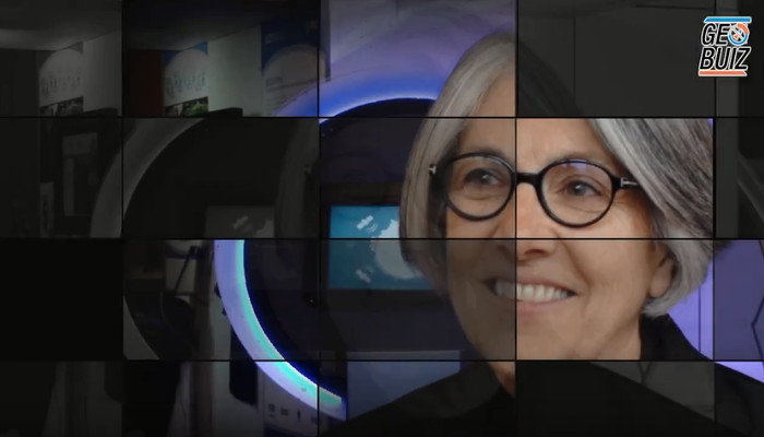 Barbara Ryan, GEO Secretariat Director, Hall of Fame video still