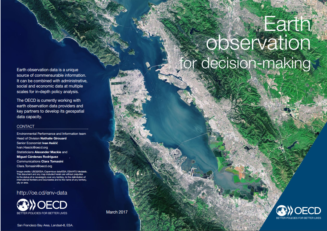 OECD report on Earth observation for decision making