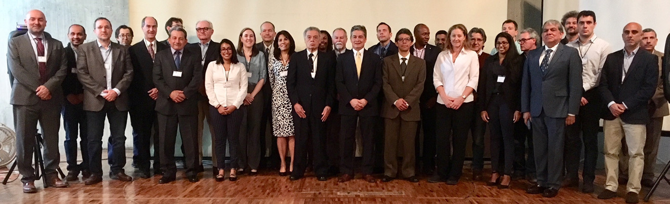 Representatives from 15 countries participated in the meeting.
