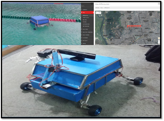 Ice Rover Resilient from Bangladesh for the NASA Space Apps challenge