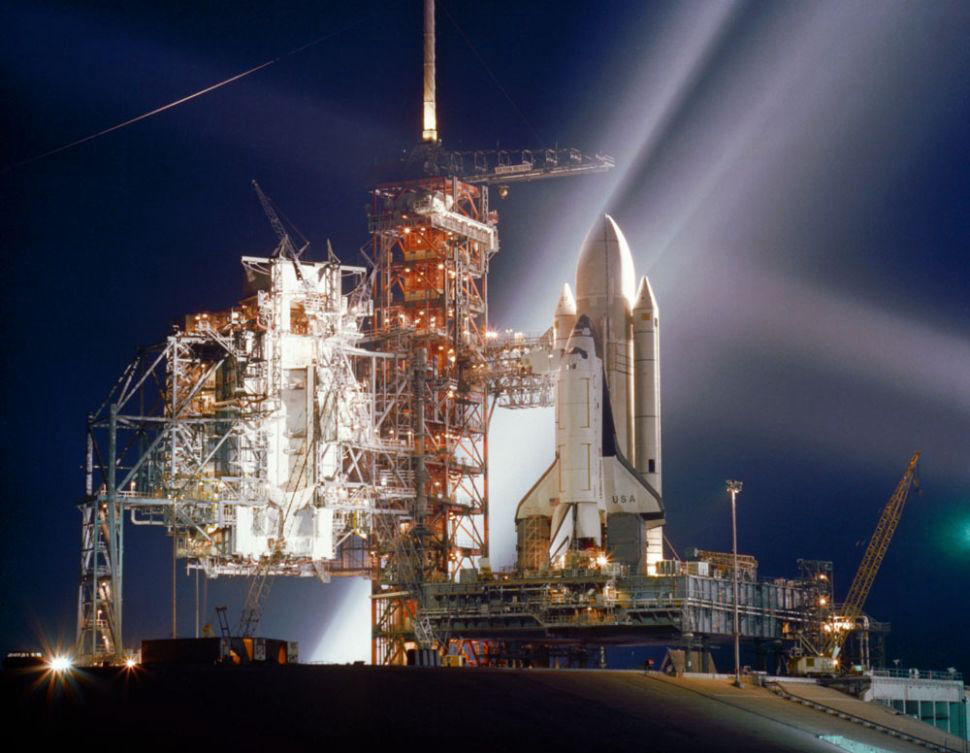 First Space Shuttle Flight: STS-1 © NASA