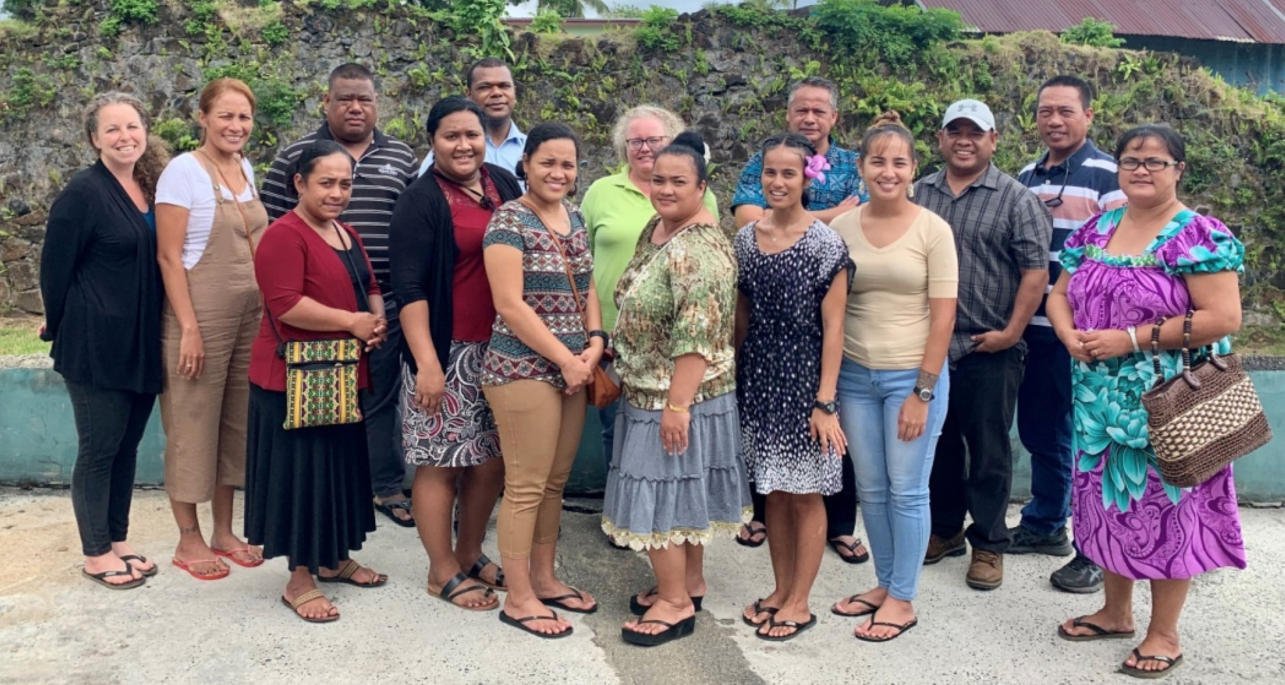 The entire Micronesia Conservation Trust staff.