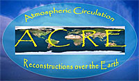 Atmospheric Circulation Reconstructions over the Earth (ACRE) logo