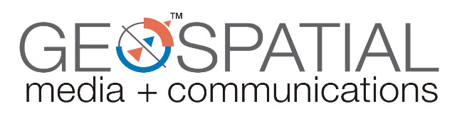 geospatial media and communications logo