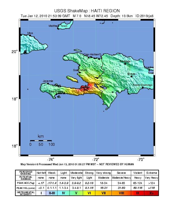 Welcome To Geo S Haiti Event Supersite Website